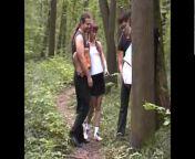 Русское порно во лесу
